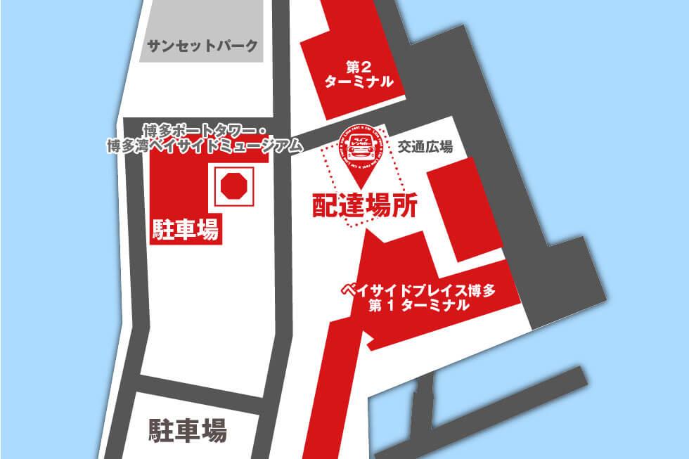 博多ふ頭地図